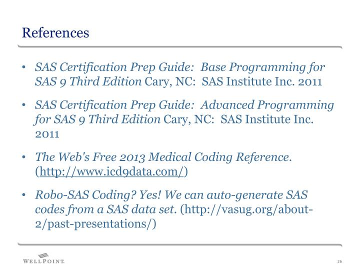 PPT - Let SAS Do the Coding for You! PowerPoint Presentation - ID ...