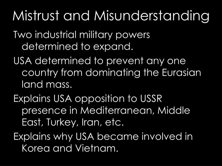 Two industrial military powers determined to expand.