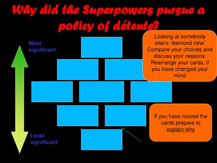Why did the Superpowers