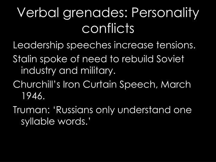 Leadership speeches increase tensions.