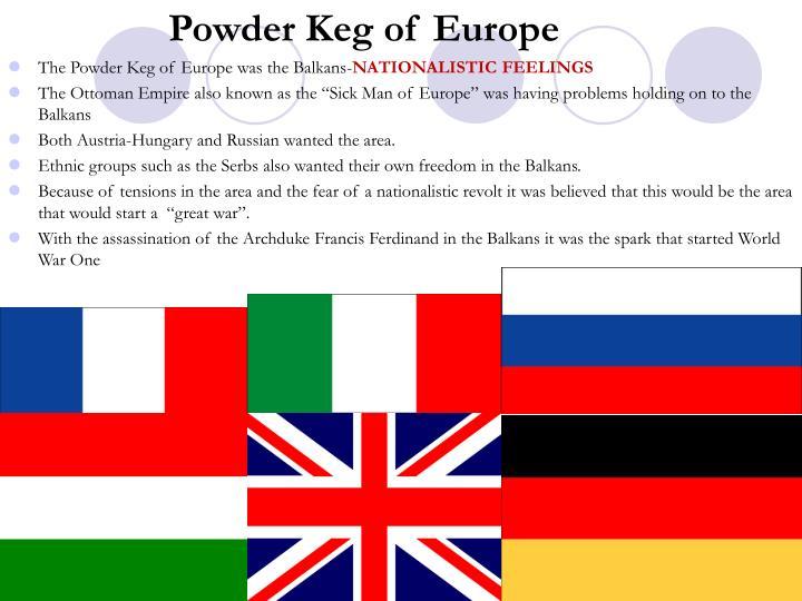 Powder Keg of Europe