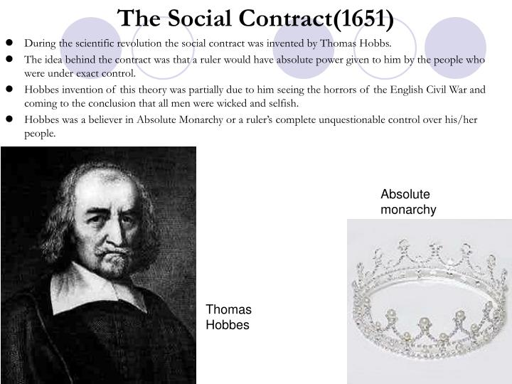The Social Contract(1651)