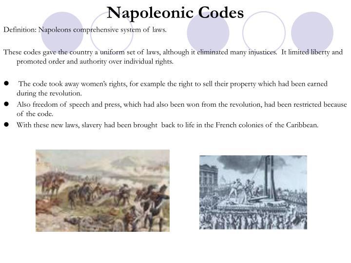 Napoleonic Codes