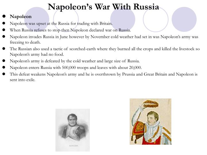 Napoleon's War With Russia