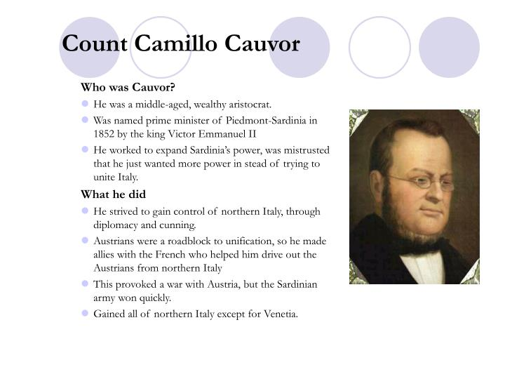 Count Camillo Cauvor