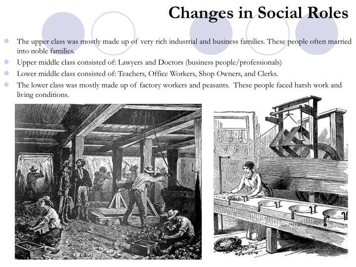 Changes in Social Roles
