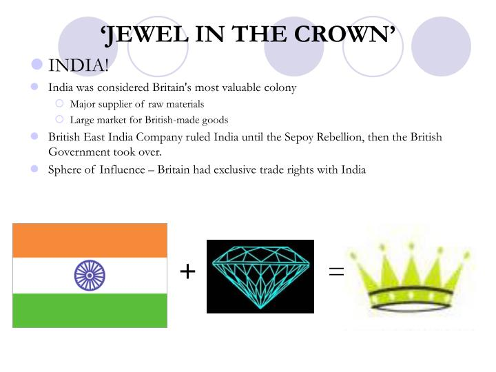 'JEWEL IN THE CROWN'