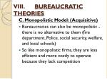 viii bureaucratic theories5