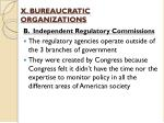 x bureaucratic organizations3