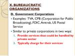 x bureaucratic organizations7