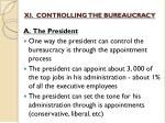 xi controlling the bureaucracy
