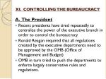 xi controlling the bureaucracy1
