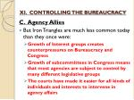 xi controlling the bureaucracy9
