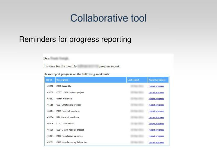 Collaborative tool