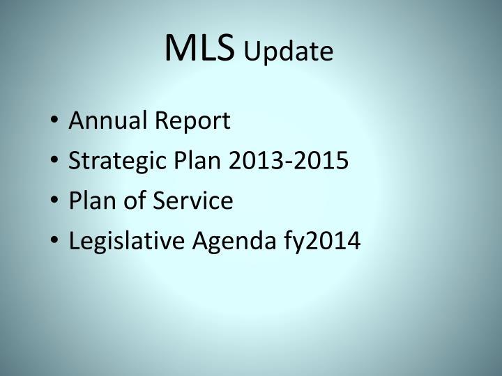 Mls update