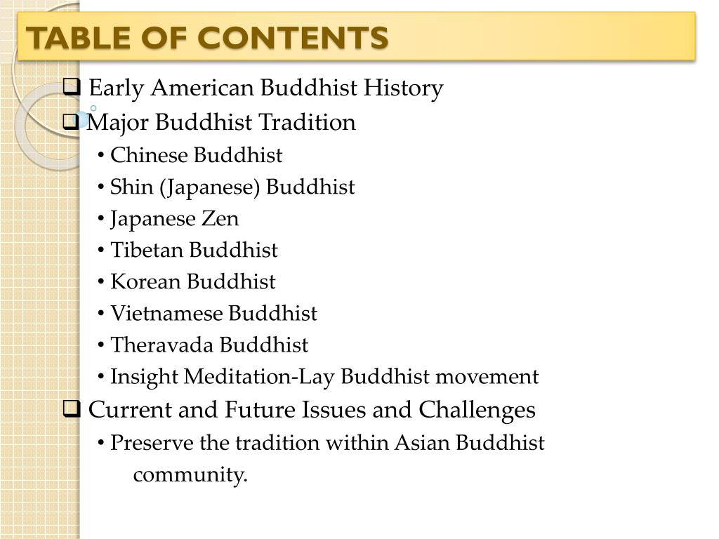 PPT - Future of Buddhism in America PowerPoint Presentation