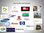 our clients and partners