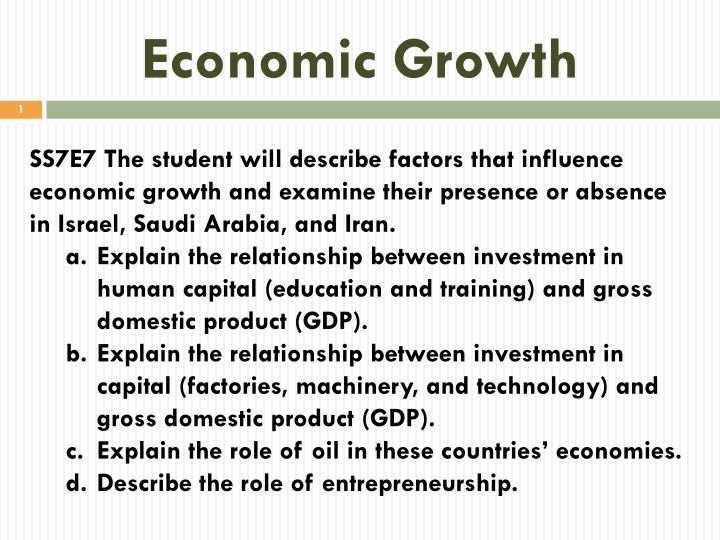 report examining relationship between economic growth Zaidi et al: examining the relationship between economic growth, energy consumption and co 2 emission - 473 - applied ecology.
