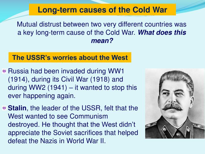 Long-term causes of the Cold War