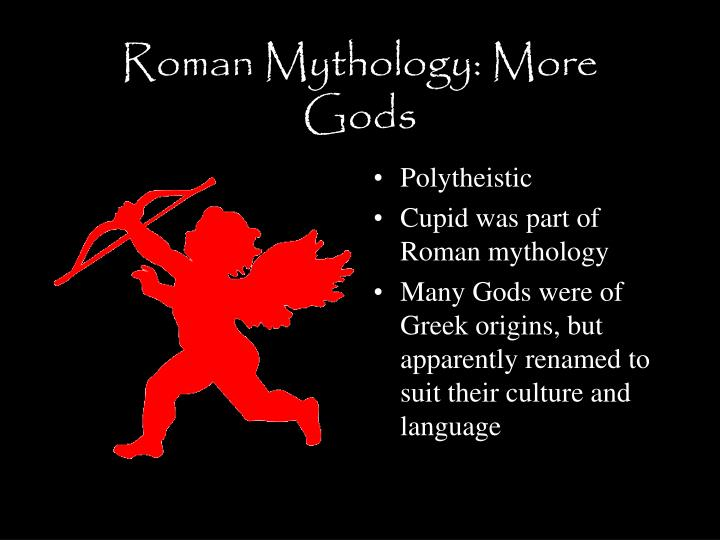 Roman mythology more gods