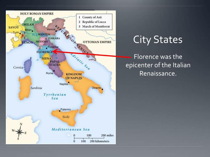 Ppt the renaissance outcome the renaissance in italy powerpoint city states sciox Image collections