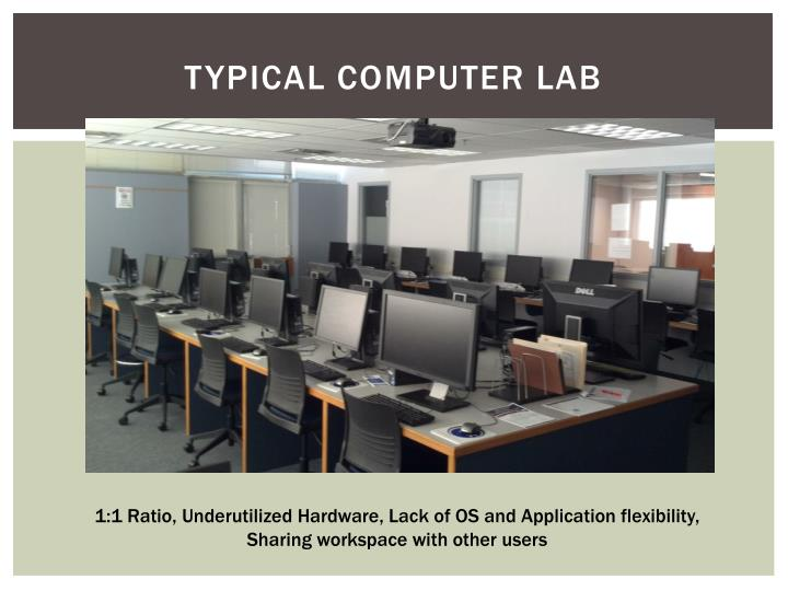 Typical Computer Lab
