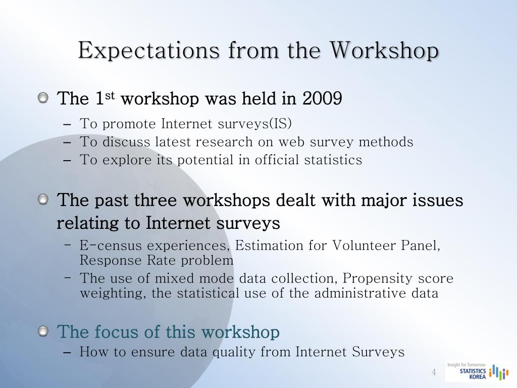 PPT - Internet Surveys & Future Works In Official Statistics