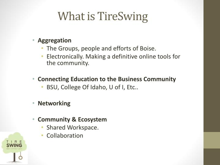 What is tireswing