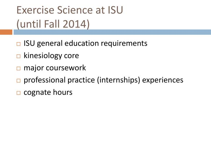 Exercise Science at