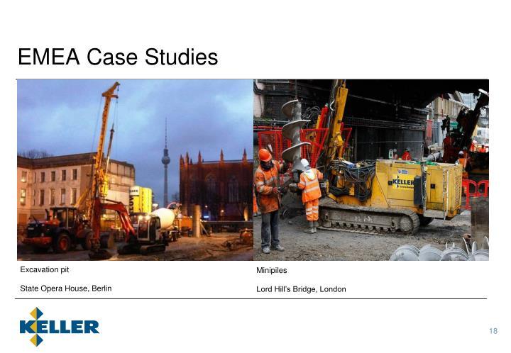 EMEA Case Studies
