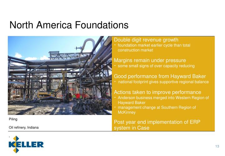 North America Foundations