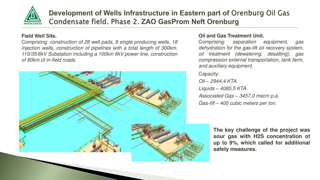 PPT - Research and design institute For oil and gas field