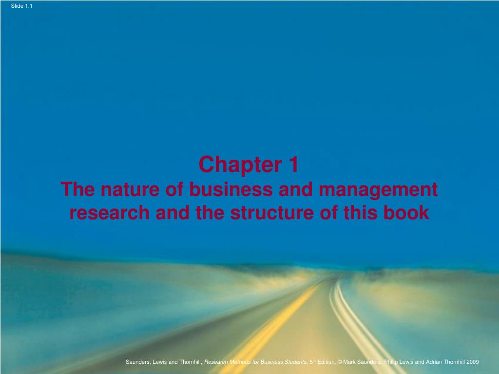 management structure and nature
