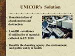 unicor s solution