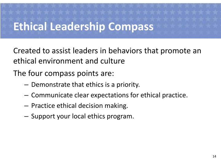 Ethical Leadership Compass
