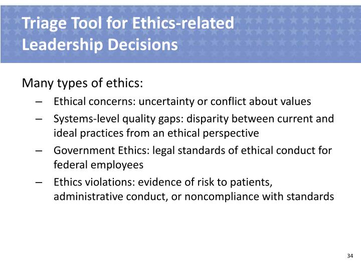 Triage Tool for Ethics-related