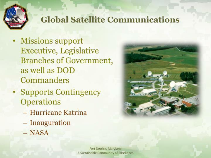 Global Satellite Communications