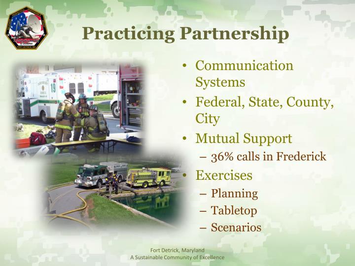 Practicing Partnership