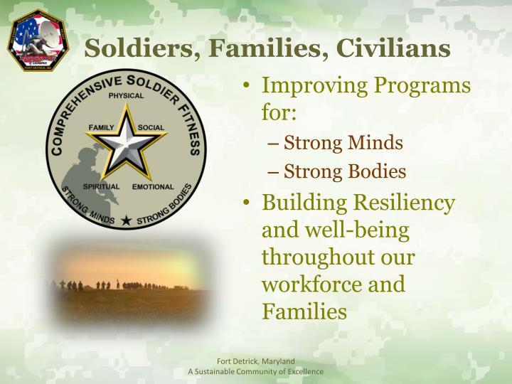 Soldiers, Families, Civilians