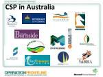csp in australia