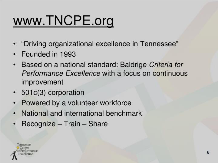 www.TNCPE.org
