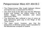 peloponnesian wars 431 404 b c