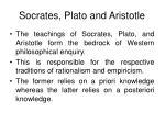 socrates plato and aristotle