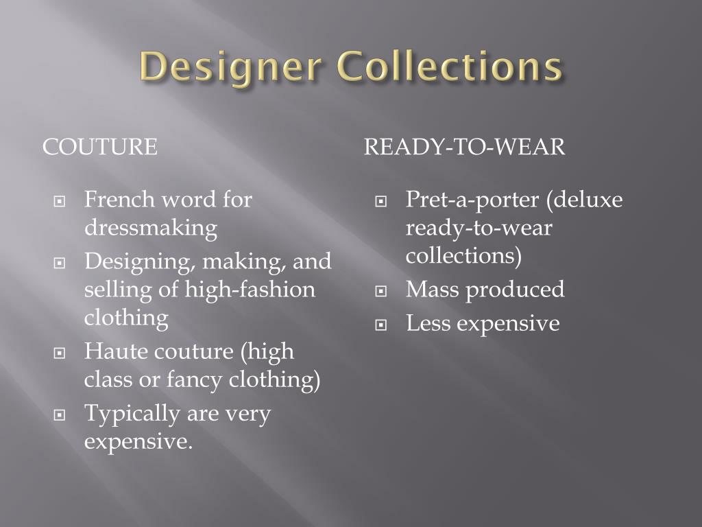 Ppt Fashion Designers Powerpoint Presentation Free Download Id 1647421