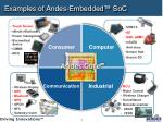 examples of andes embedded soc