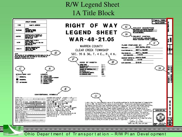 R/W Legend Sheet