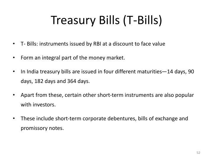 Treasury Bills (T-Bills)