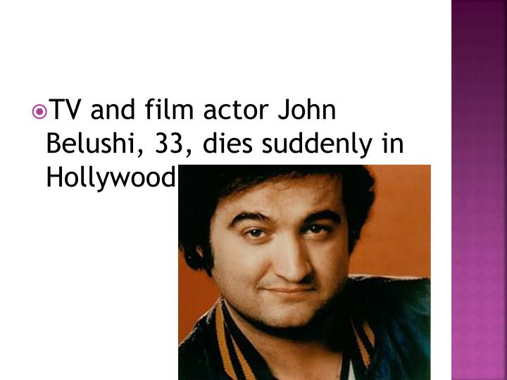TV and film actor John