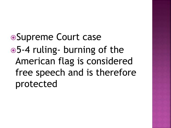 Supreme Court case