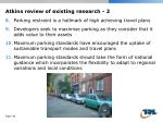 atkins review of existing research 2